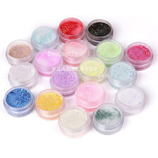 18 Colors Nail Art Acrylic Caving Powder Bulider Cave Sculpture For UV Gel Tips