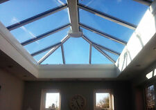 3m x 1.5m Orangery Skylight Roof Lantern - uPVC Clad Aluminium Glass Roof