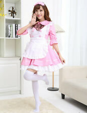 Halloween Anime Cosplay Maid Costume Lolita French Maid Babydoll Dress Uniform