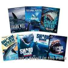 Shark Week Discovery Channel TV Series 7 Season Box/DVD Set(s) Collection NEW!