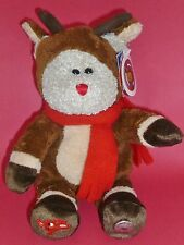 Starbucks Rudolf Red Nose Reindeer Bearista Bear Christmas Holiday 2003 NWT