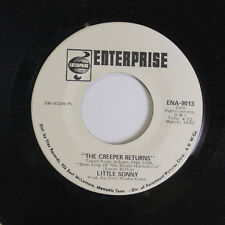 LITTLE SONNY: The Creeper Returns / Baby What You Want Me To Do 45 (dj) Soul