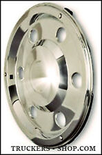 REAR SWEDISH STYLE  WHEEL TRIMS STAINLESS STEEL 17.5""