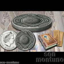 2016 Cook Islands - ST PETERS BASILICA - 4 Layer 100g Antique Finish Silver Coin