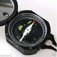 New  Aluminum DQL8 DQL-8 Transit Geological Compass Surveying and level
