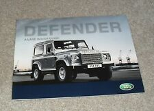 LAND Rover Defender BROCHURE 2008-2009 90 110 PICK UP STATION WAGON Hard Top