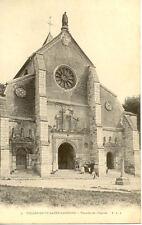 VILLENEUVE-SAINT-GEORGES 2 façade de l'église avec liberté égalité fraternité