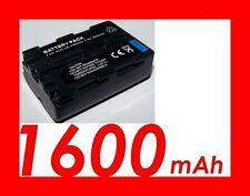 """★★★ """"1600mA"""" BATTERIE Lithium ★ Pour Sony α SLT A77, A77V  NP-FM500H / NPFM500H"""