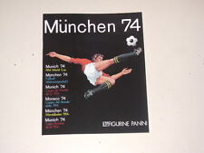 PANINI WORLD CUP MUNICH 74 1974 - OFFICIAL ALBUM REPRINTED  - 100% complete!