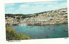 Vintage unused Postcard  Cornwall, Harbour at Mevagissey, a7aa