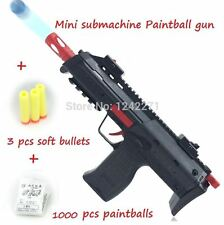 MP7A1 Sub Machine Gun 1000pc Soft Gel Balls plus 3 Suction Darts Bonus Gift