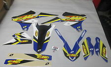 Yamaha Yzf250 Yzf450 2014-2016 One Industries Fmf Racing gráficos Kit 1g57