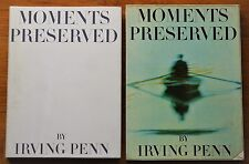 SIGNED IRVING PENN to OSCAR WINNER PLAYWRIGHT JOHN BOLT - 1960 MOMENTS PRESERVED