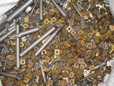 Carbide Scrap Mixed Inserts & Endmills 45+Lbs - Selling 1Lb at a time - Clean