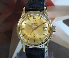 Vintage 1959 Men's Omega Constellation Honey Comb Dial Automatic Wristwatch