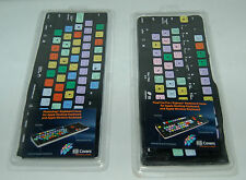 SET OF 2 KB COVERS FINAL CUT PRO EXPRESS  AND PHOTOSHOP KEYBOARD COVER FOR APPLE