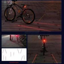 Solar Energy Power LED Rear Tail Light 3 Modes Waterproof Lamp Bike Bicycle  E37