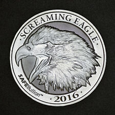 Screaming Eagle 2 oz .999 Silver Coin HD Harley Davidson Big Twin Motorcycle