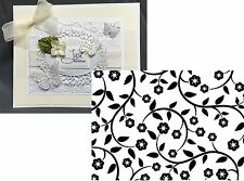 Darice Embossing Folders FLOWERS & VINES A2 Cuttlebug Compatible folder 1218-115