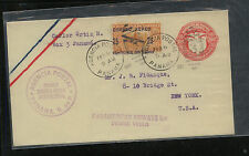 Panama uprated postal envelope first flight cover 1929                    MS1119