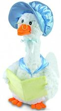 "NEW Cuddle Barn Blue ""Mother Goose"" Song Motion 14"" Animated Plush"