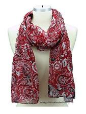 ALABAMA CRIMSON TIDE PAISLEY SCARF WRAP FASHION SCARF Free Shipping ROLL TIDE