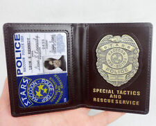 RESIDENT EVIL S.T.A.R.S. DEP RACCOON LEON POLICE BADGE ID WALLET HOLDER