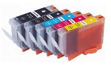 5 x Tinten für Canon PIXMA MP600 MP610 MP800 MP810 MP830 wie PGI-5 + CLI-8