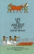 Life in Ancient Egypt Adolf Erman Paperback