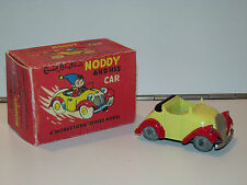 NODDY & HIS CAR 1960s MORESTONE DIECAST MODEL TOY BUDGIE TOYS REPAINT REPRO BOX