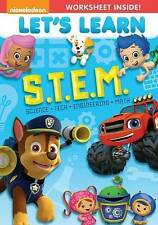 DVD: Let's Learn: S.T.E.M., . Very Good Cond.: