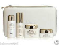 Dior Beauty Makeup Case Bag White Collection Prestige Serum Eye Lotion Creme