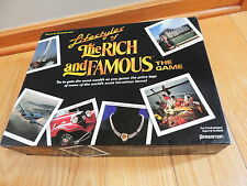 1987 PRESSMAN THE LIFESTYLE OF THE RICH & FAMOUS BOARD GAME free shipping