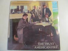 THE TRUST AMERICAN FIRE SEALED 1987 VINYL LP DDM LABEL STEREO 22858 RARE ROCK