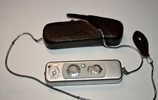 Minox 1960 Model B Metric Subminiature Camera with Case and Chain ** Metric **