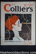 Collier's Jan 2, 1937 Arthur Crouch Cover