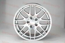 """18"""" SILVER M3 CSL STYLE RIMS WHEELS FITS BMW 3 SERIES NEW STYLE SPORT PKG AWD"""