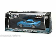 BRIAN'S FAST AND FURIOUS 2001 PORSCHE 911 CARRERA GT3 RS 1:43 GREENLIGHT 86226