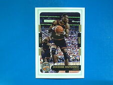 2015-16 Panini NBA Sticker Collection n.461 Dikembe Mutombo Hall of Fame