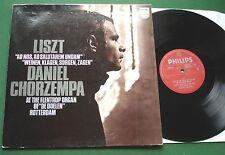 Liszt Flentrop Organ De Doelen Rotterdam Daniel Chorzempa 6500 215 LP