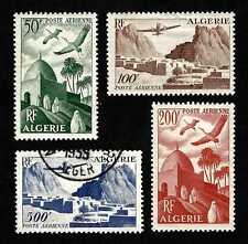 French Algeria 1949 Scenic Airmails complete set…Sc.C8-11…MVLH * set with 1 used