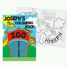 Personalised Zoo Animals Childrens Colouring Book For Boys & Girls
