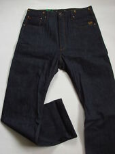 JEANS PANTALON G-STAR MIHARA 3301 LOOSE  SELVAGE  TAILLE W34 L34 VALEUR 150€