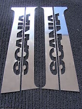 4 pcs. Door Pillars for SCANIA R/L/P Series Made ​​Of Polished Stainless Steel