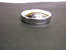 HARLEY DAVIDSON CHROME GAS CAP VENTED  FITS MANY CUSTOM TANKS TOO BC18143 - T