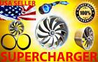 Toyota Performance Turbo Air Intake Supercharger Fan Xe - FREE SHIPPING + EXTRAS