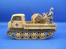 Raupenschlepper ost with Flak 38, 1/72, Plastic Soldier Co & Zvezda