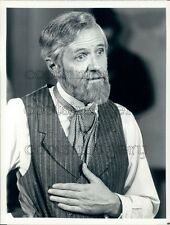 1980 Actor Arthur Hill in The Ordeal of Dr Mudd TV Movie Press Photo