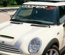 """Mini cooper S Banners Windshield Decals Cars Stickers 4""""x40"""""""