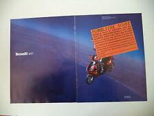 advertising Pubblicità 1997 BENELLI 491